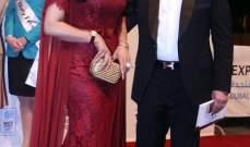 لجين عمران تخطف الأنظار في افتتاح مهرجان دبي السينمائي..بالصور