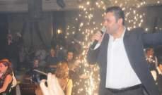 ربيع الاسمر يحيي ثلاث حفلات ناجحة ليلة رأس السنة..بالصور