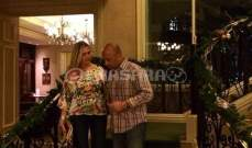 كاميرا النشرة ترصد جورج دفوني وزوجته الحامل في  بورتوريكو