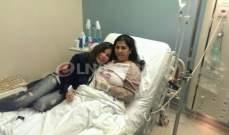 خاص بالصور- مي حريري تقبّل عاصي الحلاني وتنام بجانب ليلى عبد اللطيف بالمستشفى