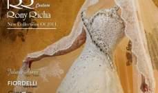 ميريام عطالله تشع بفستان الزفاف