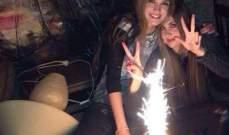 رينا ورومي شيباني تحتفلان في عيد ميلادهما المشترك.. بالصور