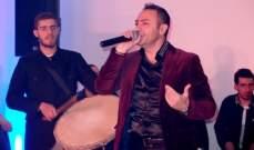باسل عيد يحوّل سهرة عيد العشاق إلى مهرجان جماهيري بين دبي ولبنان