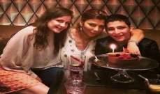 """أصالة تحتفل بعيد ميلاد إبنها """"خالد"""" بأجواء عائلية"""