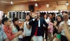 """باسل عيد يحتفل بعيد ميلاده ويطلق أغنيته الجديدة """"دلع"""""""