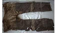 العثور على أقدم سروال في العالم