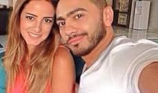 رشا الخطيب تلتقي بتامر حسني وعائلته