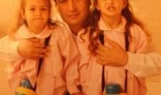 رينا شيباني تعايد والدها تنشر صورة نادرة لها