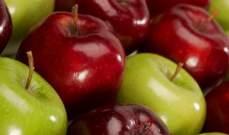 دراسة تنصح بالإكثار من تناول التفاح