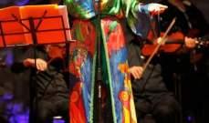 إيمان الشريف تتألق على مسرح مهرجان بنزرت الدولي