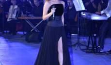 نانسي عجرم تتألق بفستان أسود وتشعل ليل قرطاج.. بالصور