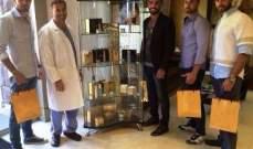 ملوك جمال لبنان يزورون د. نادر صعب ويشارك في لجنة التحكيم!