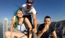 """مجنون يلتقط أخطر صورة """"Selfie"""".. بالفيديو"""