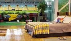 """بالفيديو.. ملعب """"ماراكانا"""" بالبرازيل يقدم فرصة لعشاق كرة القدم"""