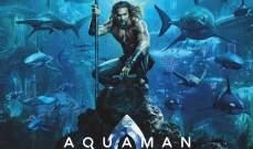 فيلم Aquaman يحقق أرباحاً خيالية بعد شهر من طرحه