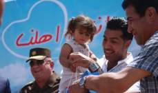 """هُمام ابراهيم يساهم  بحملة """"أنتم أهلي"""" لدعم نازحي الموصل ..بالصور"""