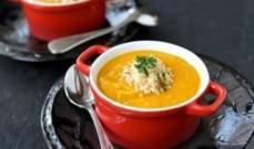 البطاطا الحلوة مصدر غذائي غني وشهي جداً في الحساء