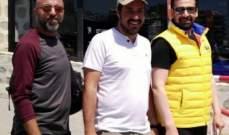 """كريم عبد العزيز يواصل تصوير مشاهد من """"الزيبق"""" في اليونان.. بالصورة"""