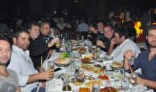 ناصر الاسعد يحتفل بعيده والراقصة نغم تُكرم بحضور وليد توفيق وأنور الأمير ومروان الشامي