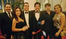ماغي بو غصن وزوجها جمال سنان في مهرجان دبي السينمائي.. بالصور
