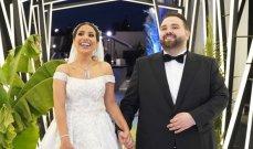 ناجي القاق ولمى المعايطه يدخلان القفص الذهبي ومشاهد من الزفاف الاستوائي - بالفيديو