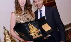 تكريم د. نادر صعب وأنابيلا هلال في الكويت!