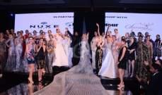 نيكول سابا عروس بفستان هاني البحيري وفيفي عبده والنجمات يحضرن عرض الأزياء وبماذا صرّحن عنه؟