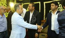 خاص بالصور- نجوم الفن يقدمون واجب العزاء بالمخرج محمد النجار