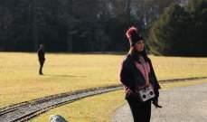 """ميساء مغربي تكشف عن البوستر الدعائي لـ""""قلبي معي"""".. بالصورة"""