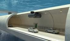 بناء أول نفق عائم تحت الماء !