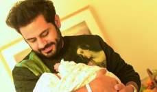 عبد الله بوشهري يرزق بمولودته الأولى..بالصور