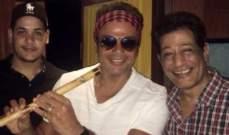 تدهور الحالة الصحية لعازف فرقة عمرو دياب ومحمد منير نتيجة إصابته بالسرطان