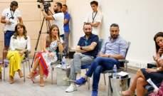 قيس الشيخ نجيب وصبا مبارك يناقشان تأثير صناعة الأفلام على قضية اللاجئين