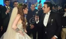 خاص بالصور- نجوم الأغنية يشعلون زفاف محمد رحيم وأنوسة كوتة