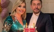عابد فهد يحتفل بعيد زواجه السابع عشر - بالصور