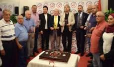 وسام دمج يحتفل بحصول أكاديميته على مرسوم جمهوري بحضور شخصيات فنية وإعلامية ونقابية..بالصور