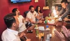 خاص بالصور- النجوم يجتمعون على الإفطار ويحتفلون بعيد ميلاد محمد خير الجراح