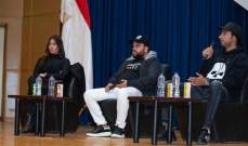علي ربيع ومحمد عبد الرحمن مكرمين في مصر - بالصور
