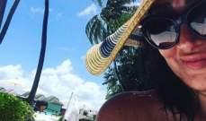 غادة عبد الرازق تستمتع بإجازتها في جزر المالديف.. بالفيديو
