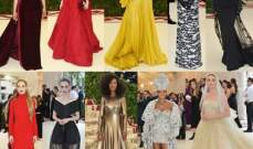 الصور كاملة لإطلالات النجمات والعارضات والملابس الرجالية في الـ Met Gala