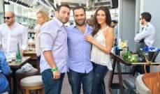 ظهور جديد لسالي جريج مع زوجها في دبي