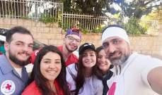 عبدو شاهين يدعم الصليب الاحمر اللبناني ورويدا عطية تدعمه