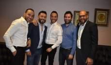 خاص بالصور- زياد برجي  وحسين الديك يحييان حفلاً إستثنائياً في شرم الشيخ