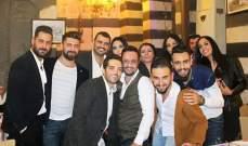 خاص الفن-الاحتفال بعيد ميلاد المصمم وسام حسن