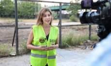 """متطوعو حملة """"دفا"""" يزرعون احدى الاراضي في الاشرفية من أجل العائلات المحتاجة"""