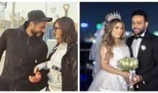 زوجة تامر عاشور تهنئ بسمة بوسيل على قرار عودتها لـ تامر حسني-بالصورة