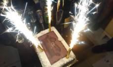 ديمتري سليم يحتفل بعيد ميلاده..بالصور