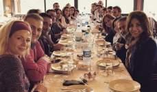 خاص بالصور- ما الذي جمع نجوم التمثيل في لبنان بالمطعم نفسه؟!