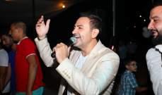 باسل عيد يحيي حفلاً مميزاً في مهرجان مزرعة الضهر..بالصور