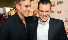 جورج كلوني ومات ديمون في مهرجان البندقية السينمائي